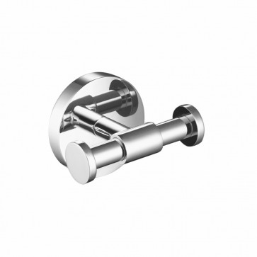 Isenberg 100.1001 Bath Brass Bathroom Towel/Robe Hook - Round