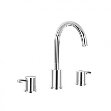 Isenberg 100.2410 Series 100 3 Hole Deck Mount Roman Tub Faucet