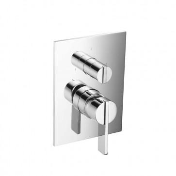 Isenberg 145.2100CP Series 145 Tub / Shower Trim With Pressure Balance Valve & Integrated 2-Way Diverter