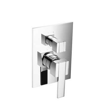 Isenberg 150.2100CP Series 150 Tub / Shower Trim With Pressure Balance Valve & Integrated 2-Way Diverter
