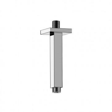 "Isenberg 160.6CSA Universal Fixtures 6"" Square Ceiling Mount Shower Arm"
