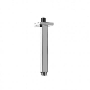 "Isenberg 160.8CSA Universal Fixtures 8"" Square Ceiling Mount Shower Arm"