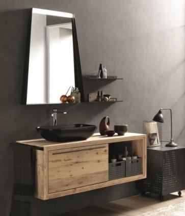 Archeda 1SP6789 Wood Ercole Mirror