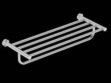 Bathroom Butler BAAC4693 4600 Series Towel Shelf + Hang Bar 25""