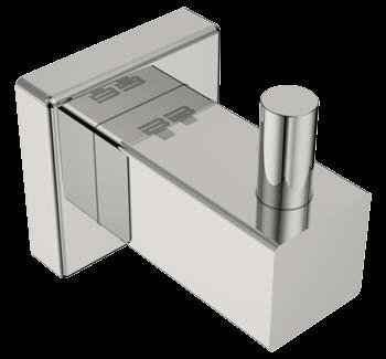 Bathroom Butler BAAC8510 8500 Series Robe Hook Single