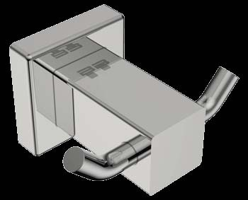 Bathroom Butler BAAC8511 8500 Series Robe Hook Double