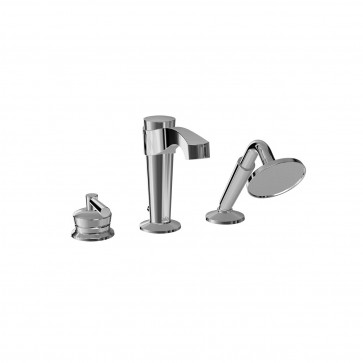 Kalia BF1060 Bellino Deckmount Tub Faucet With Hand Shower