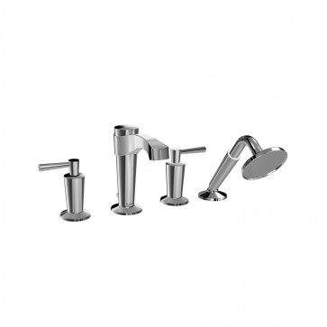 Kalia BF1061 Bellino Deckmount Tub Faucet With Hand Shower
