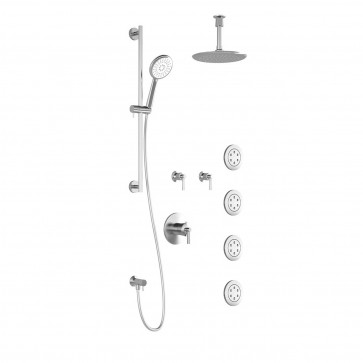 Kalia BF1245-011 Bellino T375 Shower Systems (Valves Not Included)