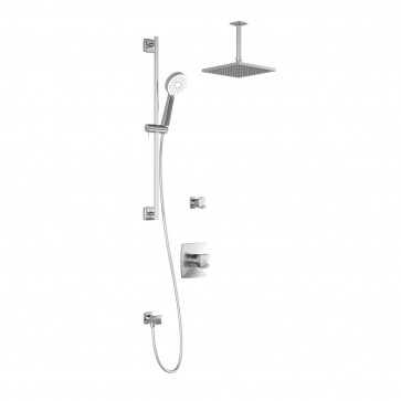 Kalia BF1253-011 Umani T2 Shower Systems (Valves Not Included)