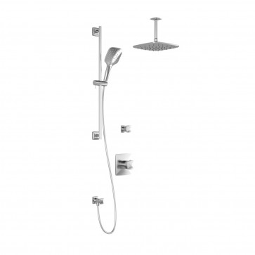 Kalia BF1253-PLUS Umani T2-Plus Shower Systems (Valves Not Included)