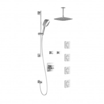Kalia BF1254-PLUS Umani T375-Plus Shower Systems (Valves Not Included)