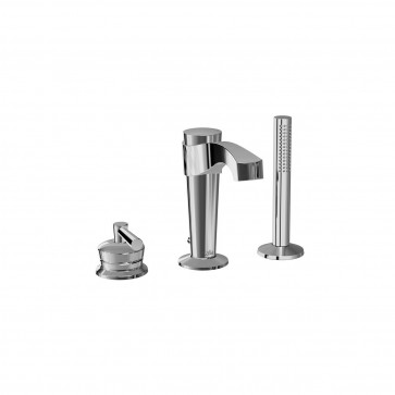 Kalia BF1272 Bellino Deckmount Tub Faucet With Hand Shower