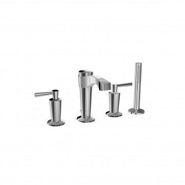 Kalia BF1273 Bellino Deckmount Tub Faucet With Hand Shower