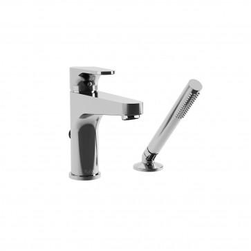 Kalia BF1287 Kontour Deckmount Tub Faucet With Hand Shower