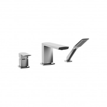 Kalia BF1292 Grafik Deckmount Tub Faucet With Hand Shower