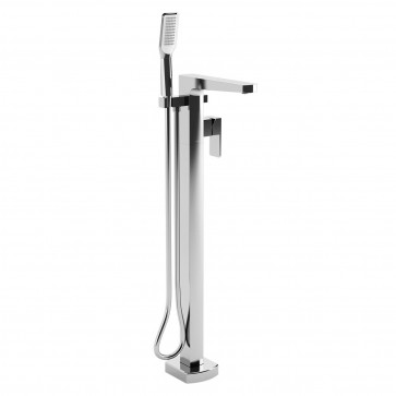 Kalia BF1293 Grafik Freestanding Tub Faucet With Hand Shower