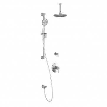 Kalia BF1346-011 Kontour T2 Shower Kit (Valves Not Included)
