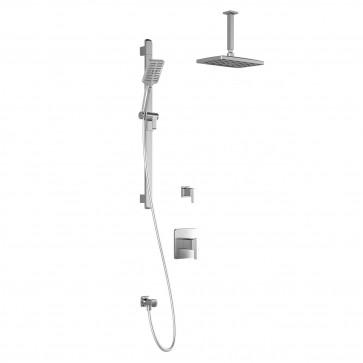 Kalia BF1364-PREMIA Grafik T2-Premia Shower Systems (Valves Not Included)