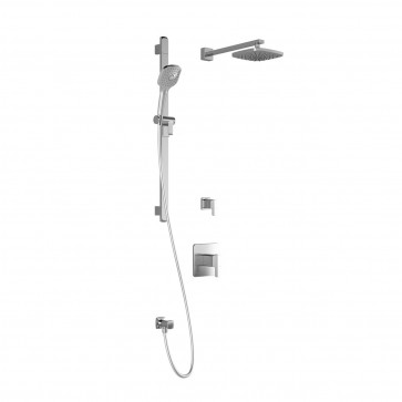 Kalia BF1364-110 Grafik T2 Shower Systems (Valves Not Included)