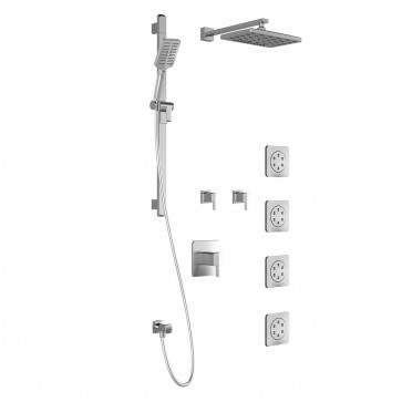 Kalia BF1365 Grafik T375-Premia Shower Systems (Valves Not Included)