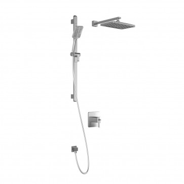 Kalia BF1719-200 Grafik Tcd1-Premia Shower Systems (Valves Not Included)