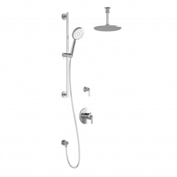 Kalia BF1430-001 Bellino Tg2 Shower Systems (Valves Not Included)