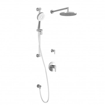Kalia BF1427-110-100 Kontour Tg2-Plus Shower Systems (Valves Not Included)