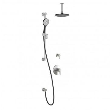 Kalia BF1427-110-001 Kontour Tg2 Shower Systems (Valves Not Included)