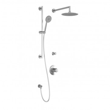 Kalia BF1428 Cite Tg2 Shower Systems (Valves Not Included)