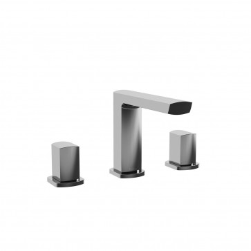 Kalia BF1473 Grafik Widespread Sink Faucet With Drain