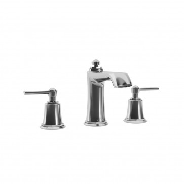 Kalia BF1485-110 Rustik Widespread Sink Faucet With Drain