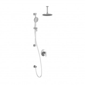 Kalia BF1498-001 Kontour Pb4 Shower Systems (Valves Not Included)