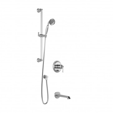 Kalia BF1516-110 Rustik Pb2 Shower Systems (Valves Not Included)