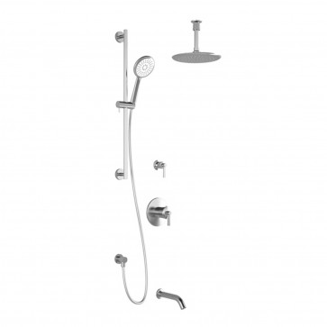 Kalia BF1598-001 Bellino Tg3 Shower Systems (Valves Not Included)