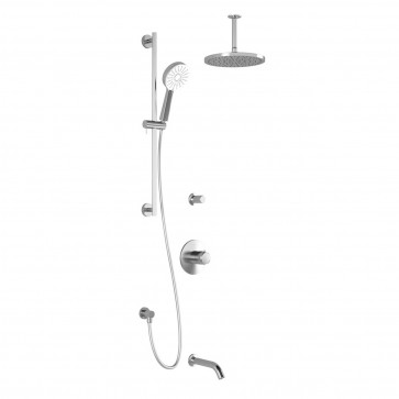 Kalia BF1605-PLUS Cite Td3-Plus Shower Systems (Valves Not Included)