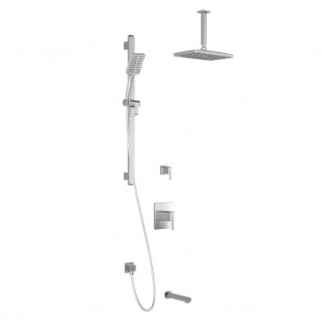 Kalia BF1612-PREMIA Grafik Tg3-Premia Shower Systems (Valves Not Included)
