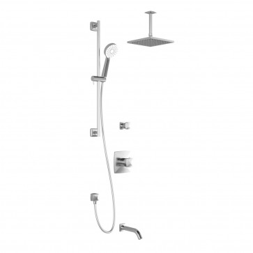 Kalia BF1632-1 Umani Tg3 Shower Systems (Valves Not Included)