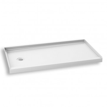 """Kalia BW1415-240 Koncept Rectangular Acrylic Shower Base 60"""" X 32"""""""