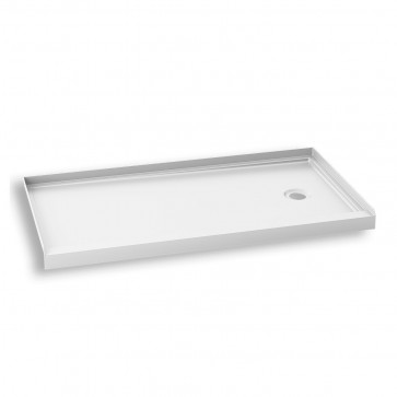 "Kalia BW1458-240 Koncept Rectangular Acrylic Shower Base 60"" X 30"""