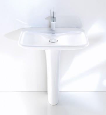 "Duravit D5000100 Pedestal PuraVida Sink 27 1/2"" inches"
