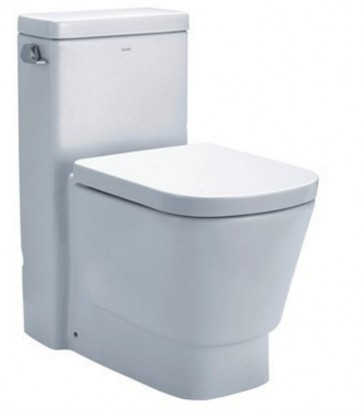Eago TB357 One-Piece Single Flush Toilet with Soft Close Seat