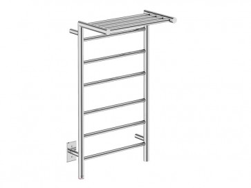 "Bathroom Butler EDG10121-PTS Edge 10 Bar 20"" Straight Heated Towel Rail"