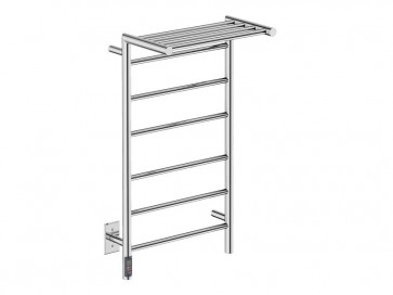 "Bathroom Butler EDG10121-TDC Edge 10 Bar 20"" Straight Heated Towel Rail"