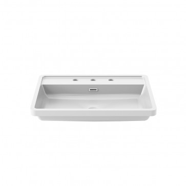 Kalia FU1455-240 Ekla Bathroom Sink For Widespread Faucet