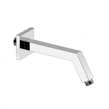 Isenberg HS1020 Universal Fixtures Square Shower Arm With Flange