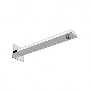 Isenberg HS1060 Universal Fixtures Wall Mount Shower Arm With Flange