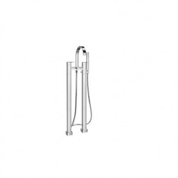 Isenberg 160.1162CP 160 Series Floor Mounted Tub Filler - Polished Chrome