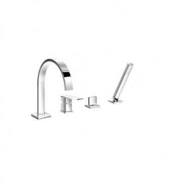 Isenberg 160.2440CP 160 Series Deck Mounted Roman Tub Filler - Polished Chrome