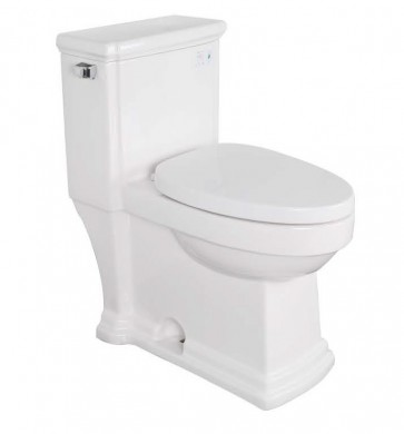 KDK A01 Jet Siphonic One-Piece Elongated Toilet